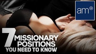 getlinkyoutube.com-7 Missionary Positions You Need To Know | Quickies