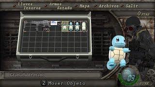 getlinkyoutube.com-Resident Evil 4 Mod - Pikachu,Charmander,Bulbasaur,Squirtle (Pokémon) por granadas