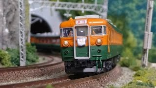 getlinkyoutube.com-国鉄 165系 急行  アルプス 【鉄道模型・Nゲージ・railway model】