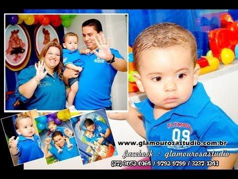 Festa de Aniversário de João Victor - 1 Aninho - HAPPY DAY Buffet Infantil