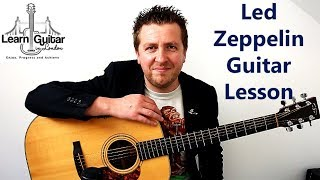 Babe I'm Gonna Leave You - Guitar Tutorial - Led Zeppelin - With TAB - Part 1