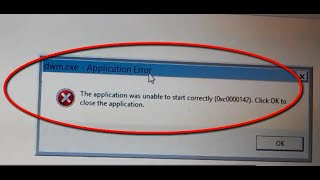 getlinkyoutube.com-The application was unable to start correctly (0Xc0000142). Application error in Windows 8.1