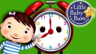 Telling Time Song | What Time Is It? | Nursery Rhymes | Original Song by LittleBabyBum!