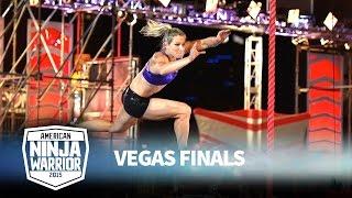 getlinkyoutube.com-Jessie Graff at the Vegas Finals: Stage 1 | American Ninja Warrior