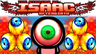 The Binding of Isaac AFTERBIRTH: LUDOVICO + SPLIT SHOT + TRIPLE SHOT + SOY MILK