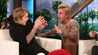 getlinkyoutube.com-Justin Bieber Funny & Best Moments 2015   Ellen Show : Pranks, Dance Moves  