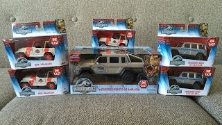 getlinkyoutube.com-Jurassic World Jada Die-cast Vehicle Toy Haul and Review!