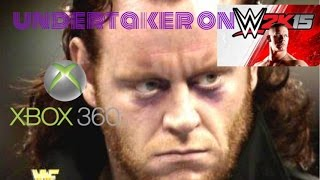How to make a undertaker debut attire on wwe 2k15 Xbox 360 width=