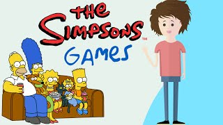 getlinkyoutube.com-Simpsons Games - Ft. SkipToGame - HappyMaskGamer