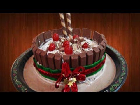 Kit Kat Candy Bar Ice Cream Cake -xJXE6adjpX0