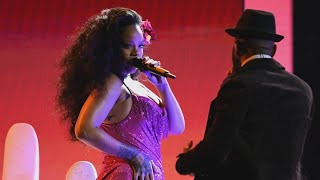 Rihanna Brings It During Epic 'Wild Thoughts' GRAMMYs Performance