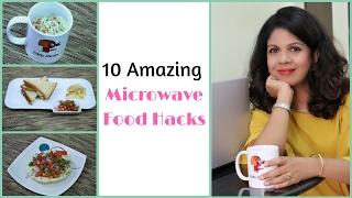 getlinkyoutube.com-10 Amazing Microwave Food Hacks | Easy Microwave Recipes | Indian Kitchen Hacks
