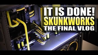 getlinkyoutube.com-The Custom PC Build Skunkworks is DONE! - Build Vlog Part 4