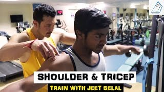 SHOULDER & TRICEP - Train with JEET SELAL |Free Personal Training Session|