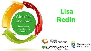 Miljösamverkan - Inspirerande halvdag om cirkulär ekonomi - Lisa Redin - introduktion