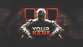 getlinkyoutube.com-[TEMPLATE] COD: Black Ops 3 Youtube Background Speed Art + PSD file