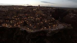 Aerial Video - Il fascino dei Sassi di Matera