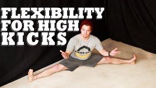 getlinkyoutube.com-How to Increase Flexibility for High Kicks | Martial Arts Stretching
