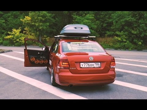 Team Alphard Russia: Самый громкий седан! Обзор автомобиля Volkswagen Polo!