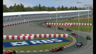 F1 2010 Canada Highlights.wmv