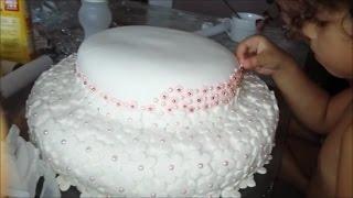 getlinkyoutube.com-Eu fiz o bolo do aniversário de Júlia.
