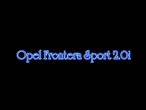 Opel Frontera Sport 2 0i Увеличение багажника.