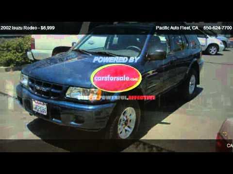 2002 Isuzu Rodeo - for sale in San Bruno, CA 94066