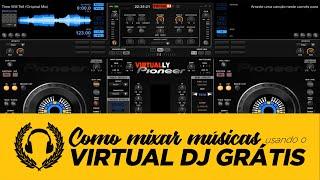 Como mixar músicas usando o Virtual DJ grátis   Dica DJ Premium