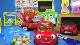getlinkyoutube.com-뽀로로(Pororo) 뚜뚜 흔들카 장난감 레고 심슨 개봉 또봇 어드벤처 Z 장난감 Pororo Tobot toys