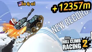 Hill Climb Racing 2 \ Tank \ Tunning Parts \ Winter \ 25th World Record