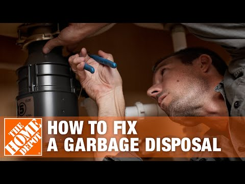 How to Fix a Garbage Disposal