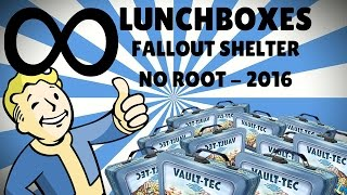 getlinkyoutube.com-How To get UNLIMITED Lunchboxes in Fallout Shelter (NO ROOT) - 2016