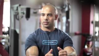 getlinkyoutube.com-تدرب مع المحترف - برنامج زيادة الوزن - اليوم 1 من 5