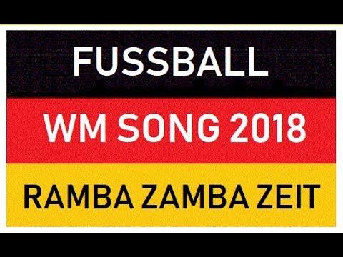WM SONGS 2014 BRASILIEN - Fanmeilen-Song-Hymne - Ramba-Zamba-Samba-Zeit - Brasilien 2014