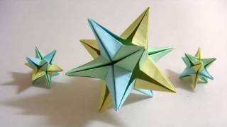 getlinkyoutube.com-Origami Omega Star (Philip Shen) - 6 modules