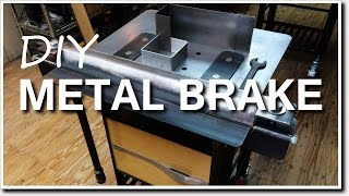 getlinkyoutube.com-DIY Metal Brake for Bending Sheet Metal