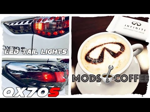 How to Install Clear LED Tail Lights: Infiniti QX70 FX50 FX37 FX35