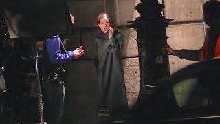 getlinkyoutube.com-EXCLUSIVE: Natalie Portman shooting Planetarium movie in Paris