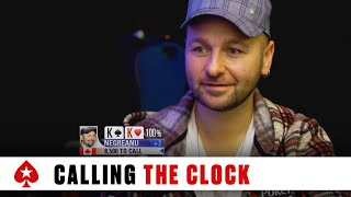 Poker Etiquette - Oliver Calls Clock on Daniel Negreanu