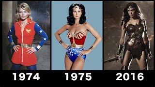 getlinkyoutube.com-Wonder woman Transformation Movie [1974-2016] - Compilation