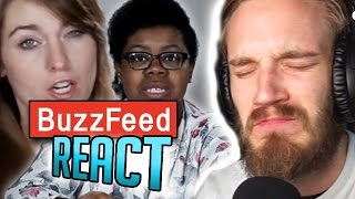 getlinkyoutube.com-PEWDIEPIE REACTS TO BUZZFEED REACTING TO PEWDIEPIE (PewDiePie React)