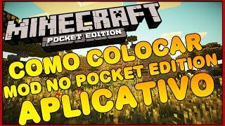 getlinkyoutube.com-Como colocar MODS no Minecraft Pocket Edition 1.0.4 - MCPE / Minecraft PE 1.0.4
