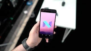 نظرة اولى على اصدار اندرويد الجديد Android N