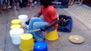 getlinkyoutube.com-Street Drummer
