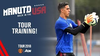 Manchester United Training! | Goalkeepers & Bailly, Mata, Smalling | USA Tour 2018 Live on MUTV