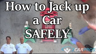 getlinkyoutube.com-How to Safely Jack and Lift Up Your Car Using Jack Stands