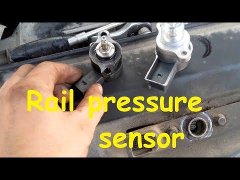 Mercedes Sprinter EDC / Rail pressure sensor P1187 Error code / Rail pressure too low