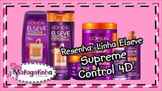 getlinkyoutube.com-Linha Elseve Control 4D - Do shampoo ao creme para pentear