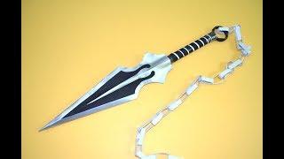 download video como fazer uma kunai de papel naruto