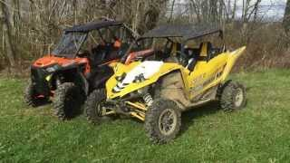 getlinkyoutube.com-Polaris RZR XP Turbo vs. Yamaha YXZ MPI Turbo